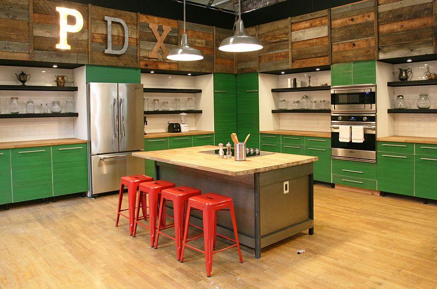 Кухня в индустриальном стиле - Фото 25