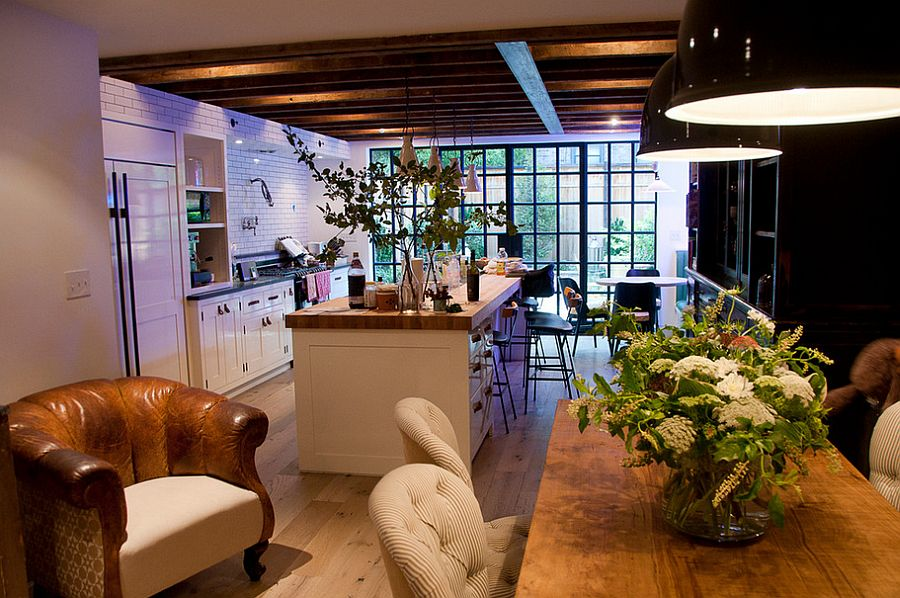 Кухня в индустриальном стиле - Фото 26