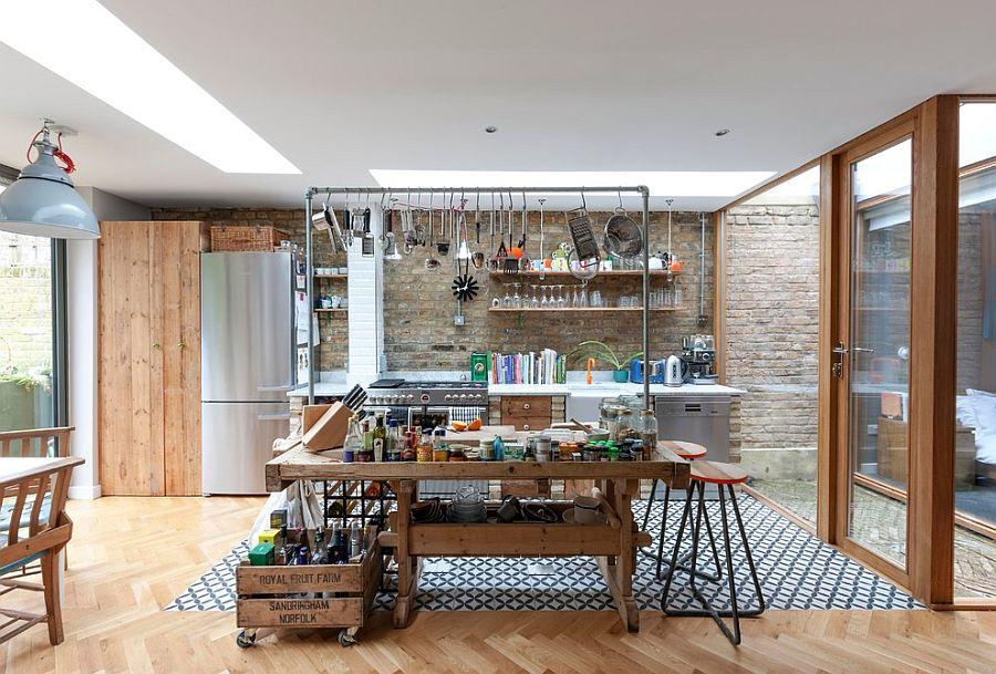 Кухня в индустриальном стиле - Фото 33