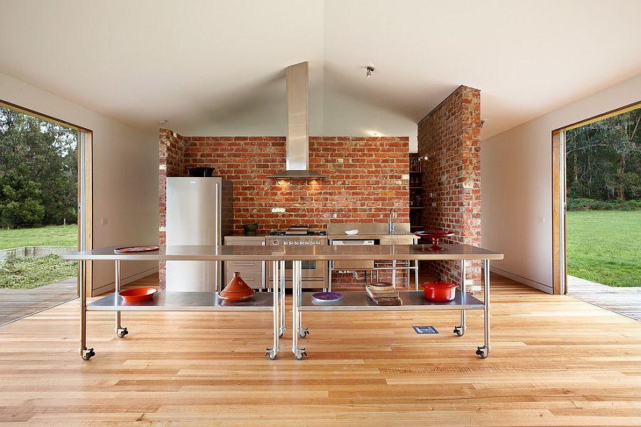 Кухня в индустриальном стиле - Фото 36