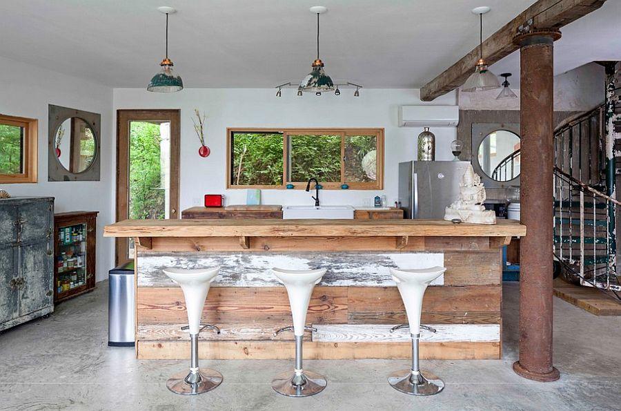 Кухня в индустриальном стиле - Фото 38