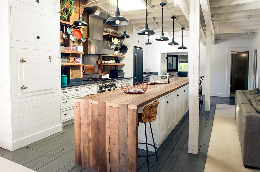 Кухня в индустриальном стиле - Фото 42