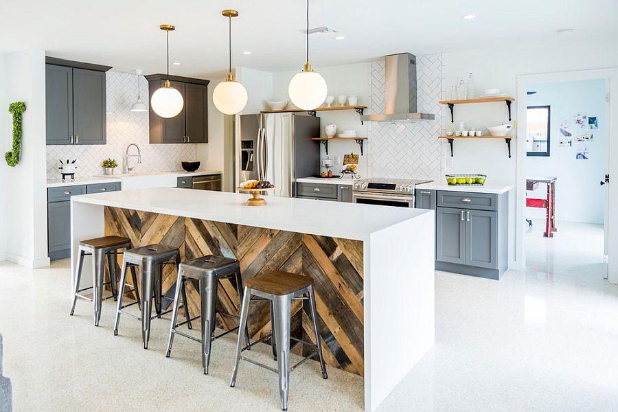 Кухня в индустриальном стиле - Фото 43