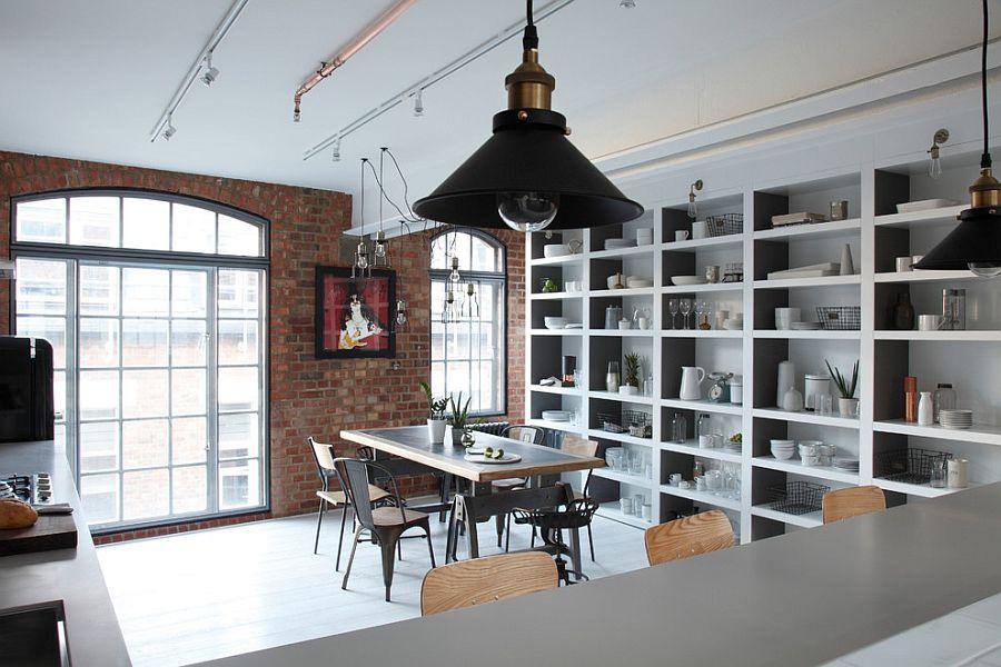 Кухня в индустриальном стиле - Фото 46