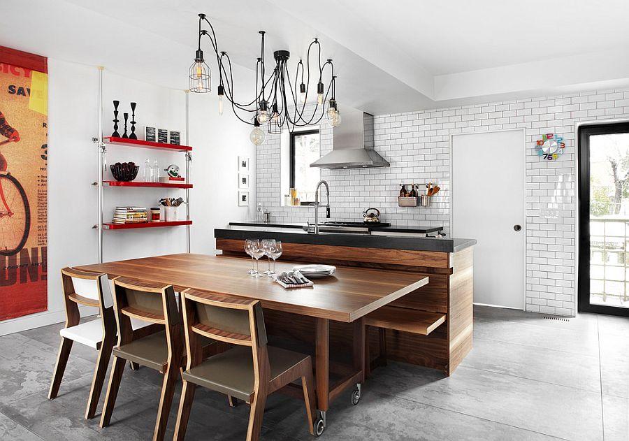 Кухня в индустриальном стиле - Фото 47
