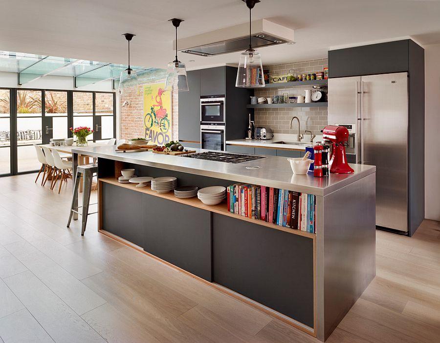 Кухня в индустриальном стиле - Фото 48