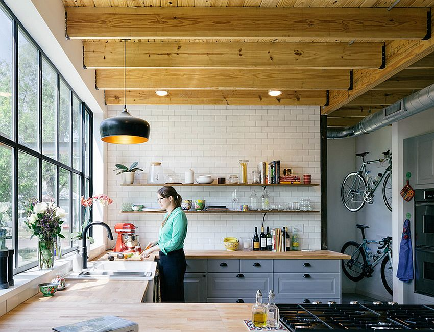 Кухня в индустриальном стиле - Фото 50
