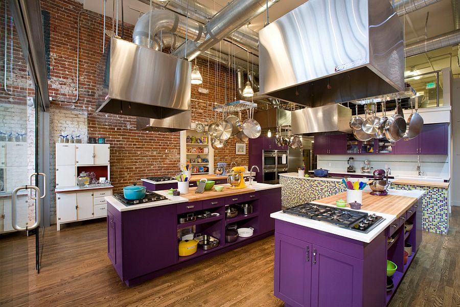Кухня в индустриальном стиле - Фото 59