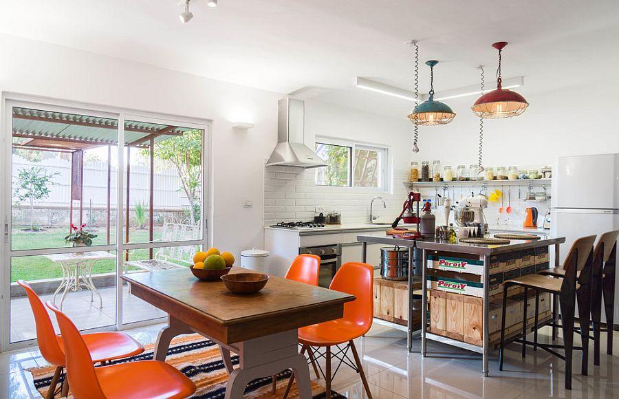 Кухня в индустриальном стиле - Фото 61