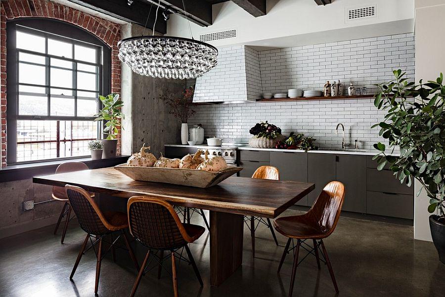 Кухня в индустриальном стиле - Фото 64