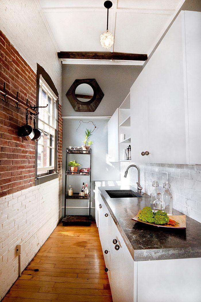 Кухня в индустриальном стиле - Фото 65