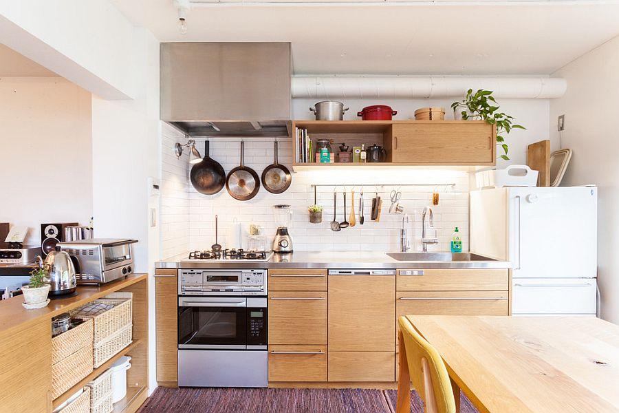 Кухня в индустриальном стиле - Фото 66