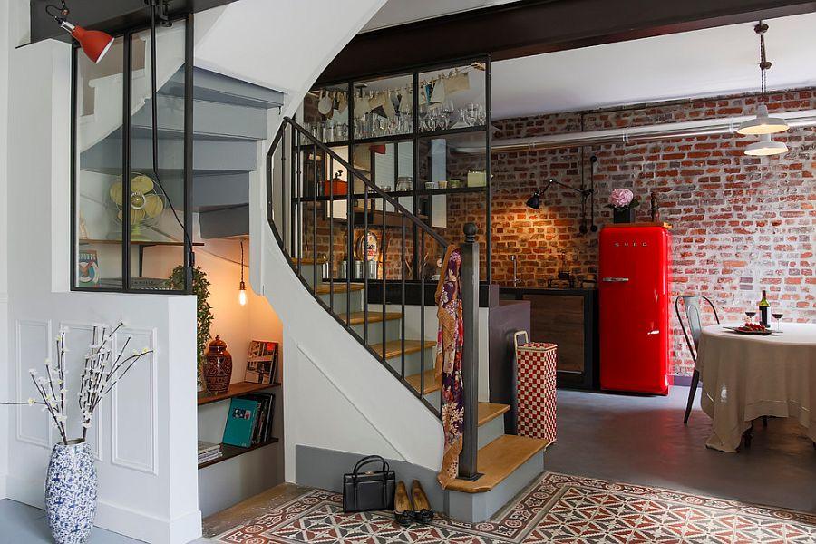 Кухня в индустриальном стиле - Фото 67