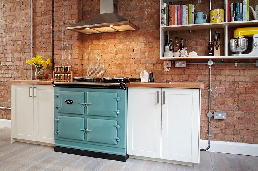 Кухня в индустриальном стиле - Фото 70