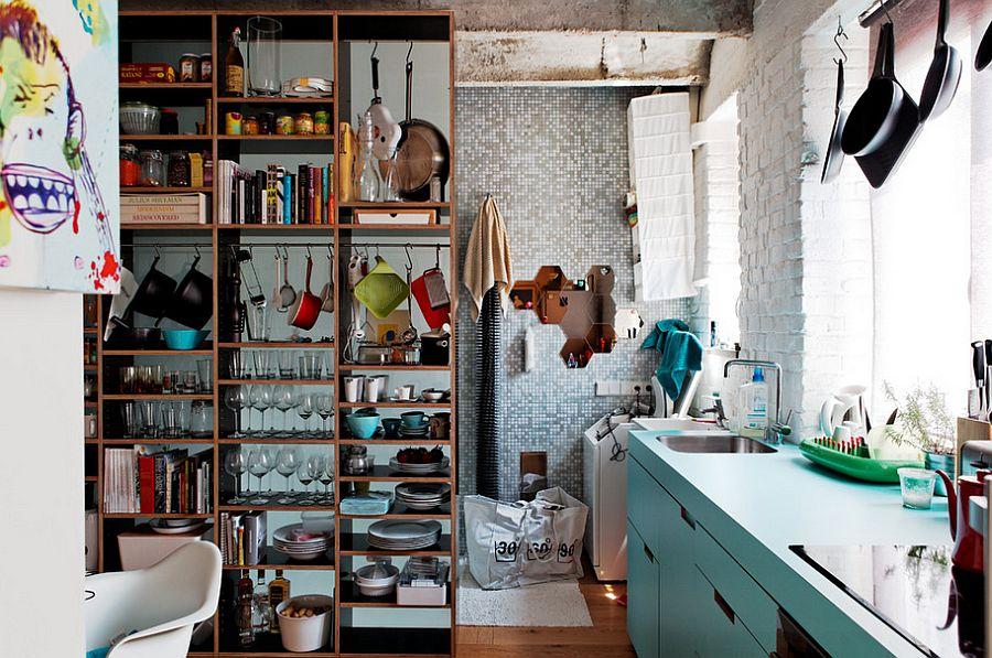 Кухня в индустриальном стиле - Фото 71