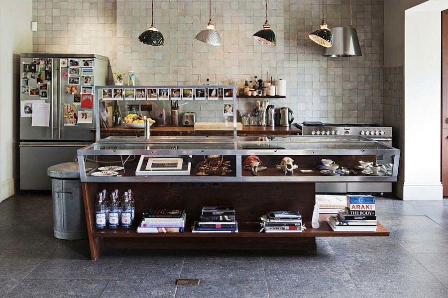 Кухня в индустриальном стиле - Фото 76