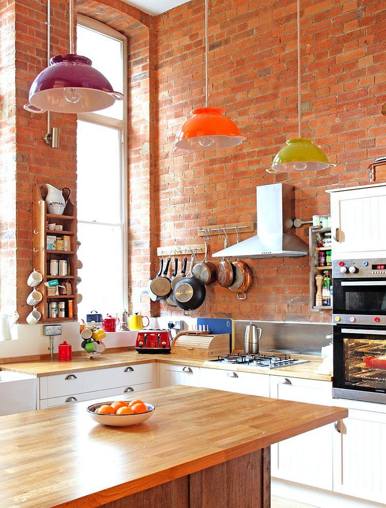 Кухня в индустриальном стиле - Фото 77