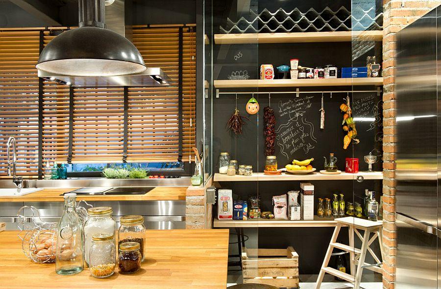 Кухня в индустриальном стиле - Фото 83