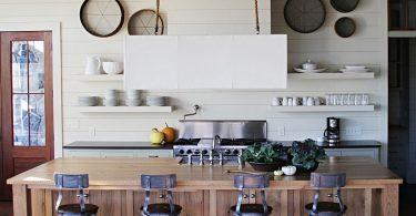 Роскошная кухня в индустриальном стиле