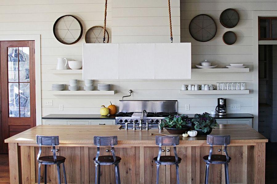 Кухня в индустриальном стиле - Фото 84