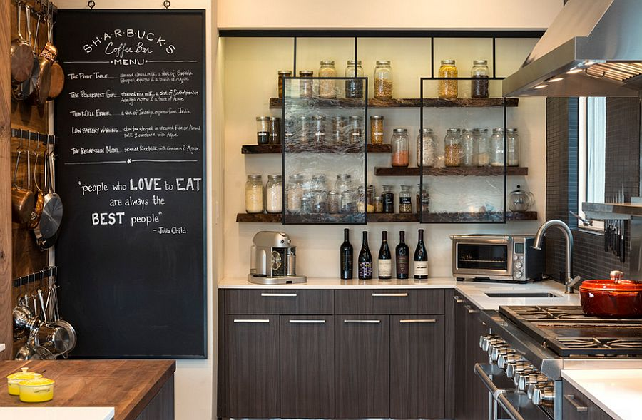 Кухня в индустриальном стиле - Фото 86