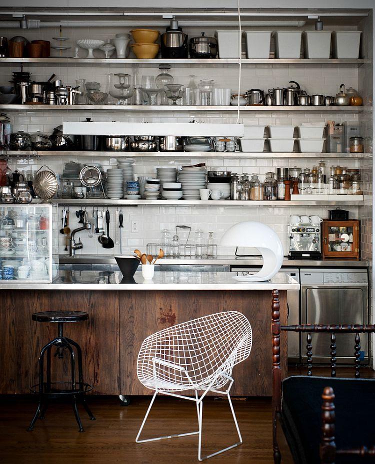 Кухня в индустриальном стиле - Фото 89
