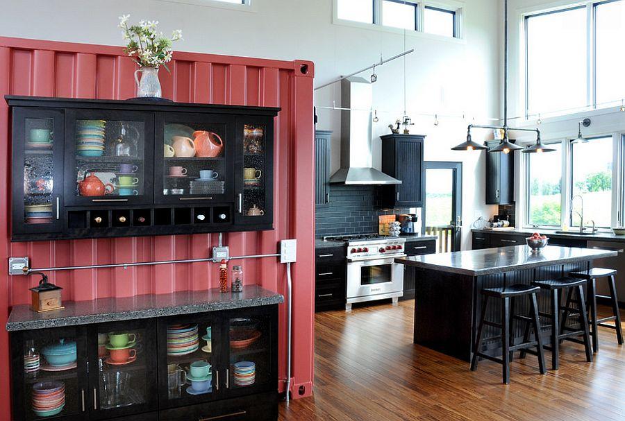 Кухня в индустриальном стиле - Фото 91