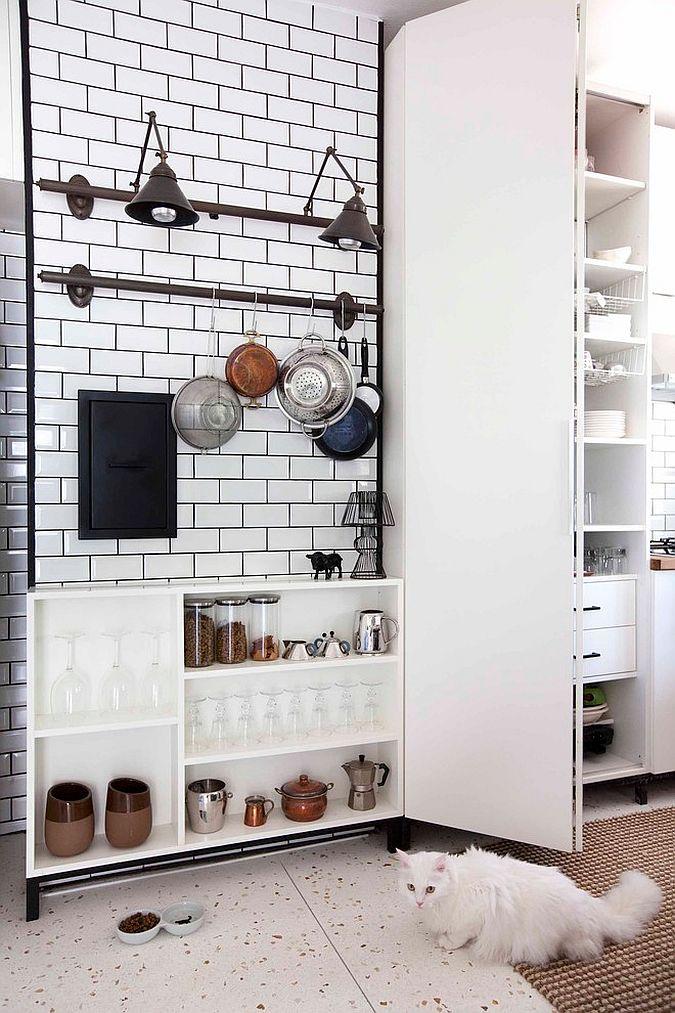 Кухня в индустриальном стиле - Фото 92