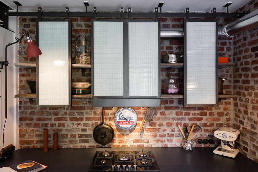 Кухня в индустриальном стиле - Фото 93