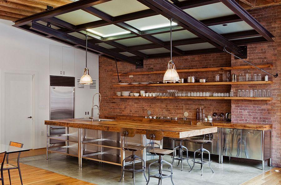 Кухня в индустриальном стиле - Фото 98