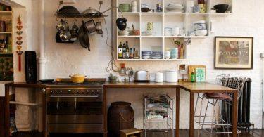 Кухня в индустриальном стиле - просто и без излишеств