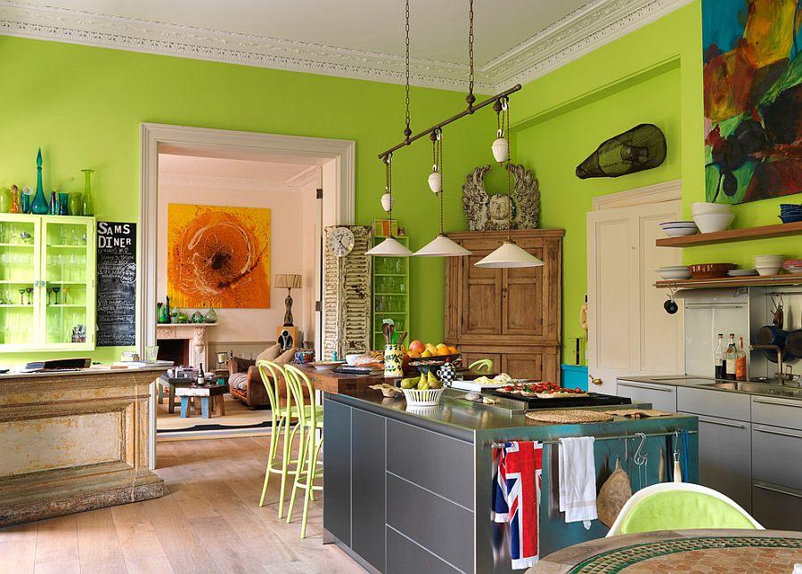 Интерьер кухни в стиле эклектика - Фото 2