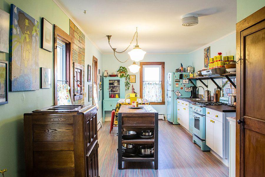 Интерьер кухни в стиле эклектика - Фото 7