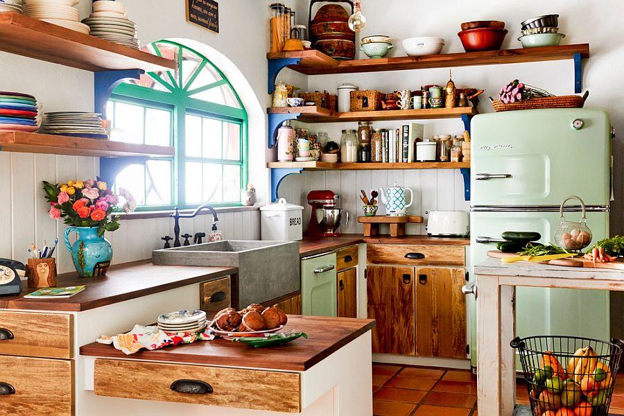 Интерьер кухни в стиле эклектика - Фото 10
