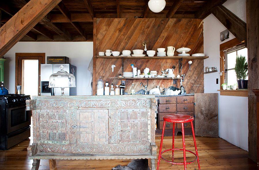 Интерьер кухни в стиле эклектика - Фото 13