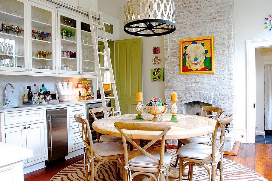 Интерьер кухни в стиле эклектика - Фото 15