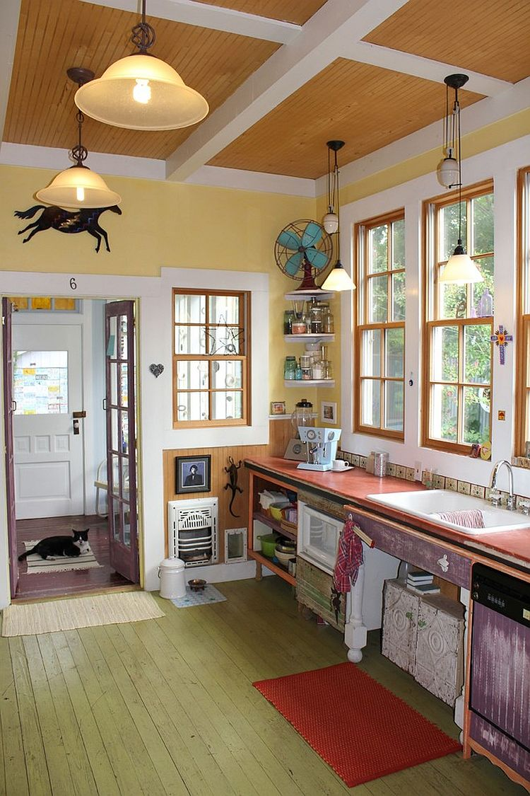 Интерьер кухни в стиле эклектика - Фото 16