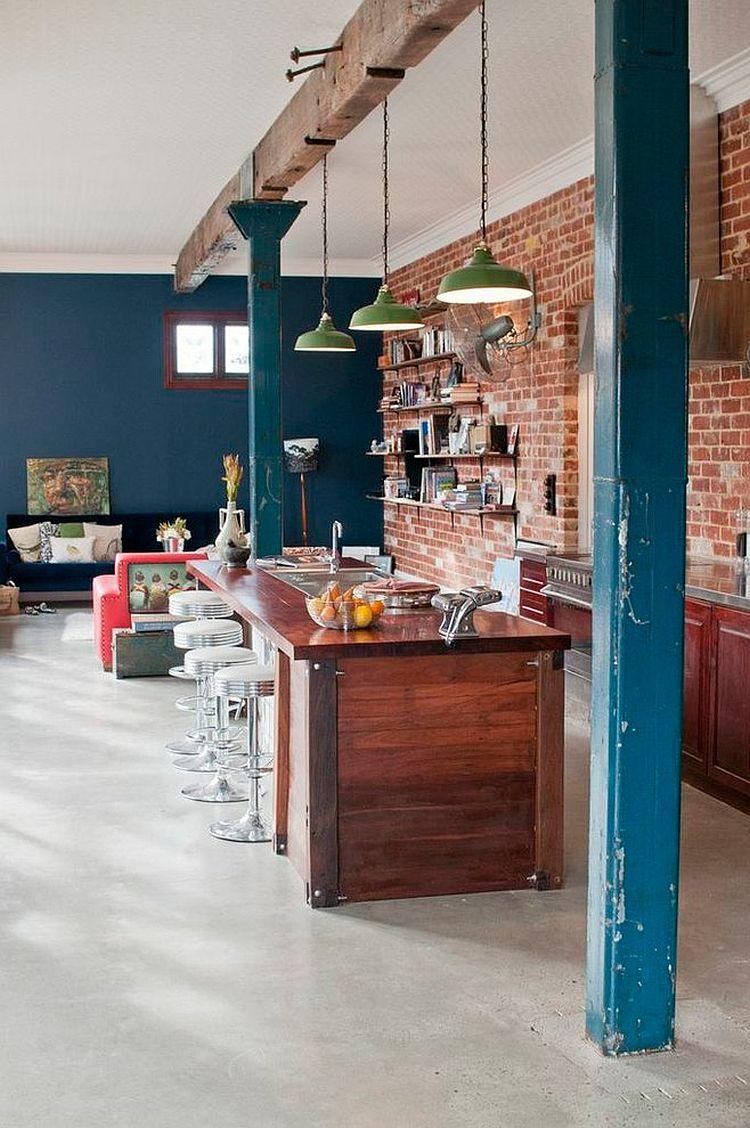 Интерьер кухни в стиле эклектика - Фото 17