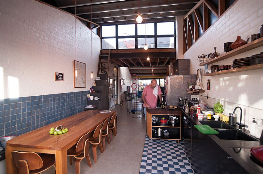 Интерьер кухни в стиле эклектика - Фото 18
