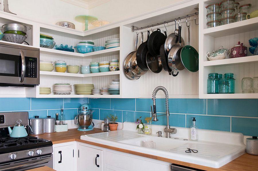 Интерьер кухни в стиле эклектика - Фото 31