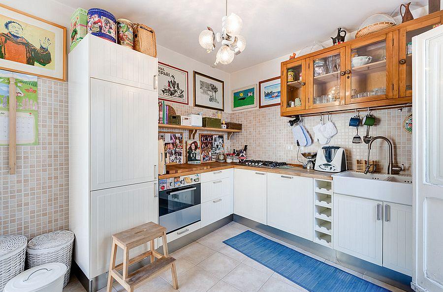 Интерьер кухни в стиле эклектика - Фото 33