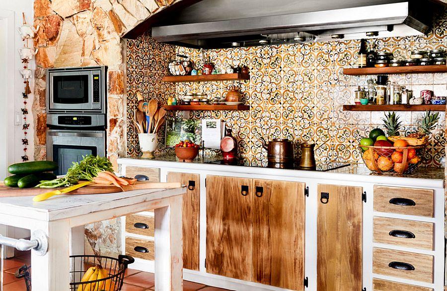 Интерьер кухни в стиле эклектика - Фото 34