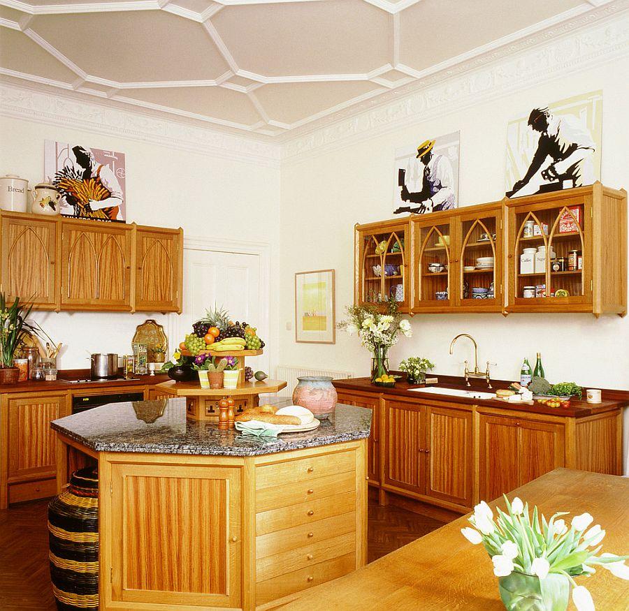 Интерьер кухни в стиле эклектика - Фото 35