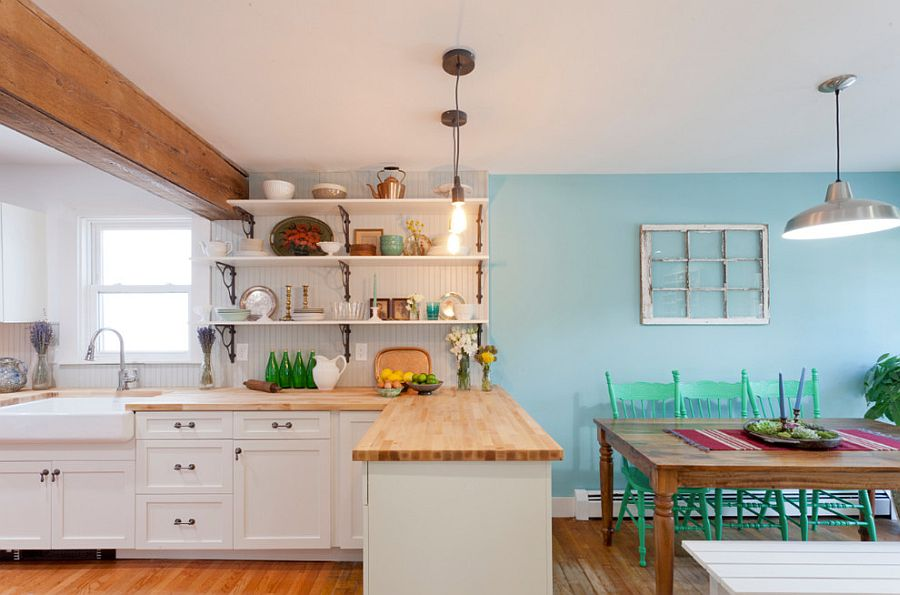 Интерьер кухни в стиле эклектика - Фото 36