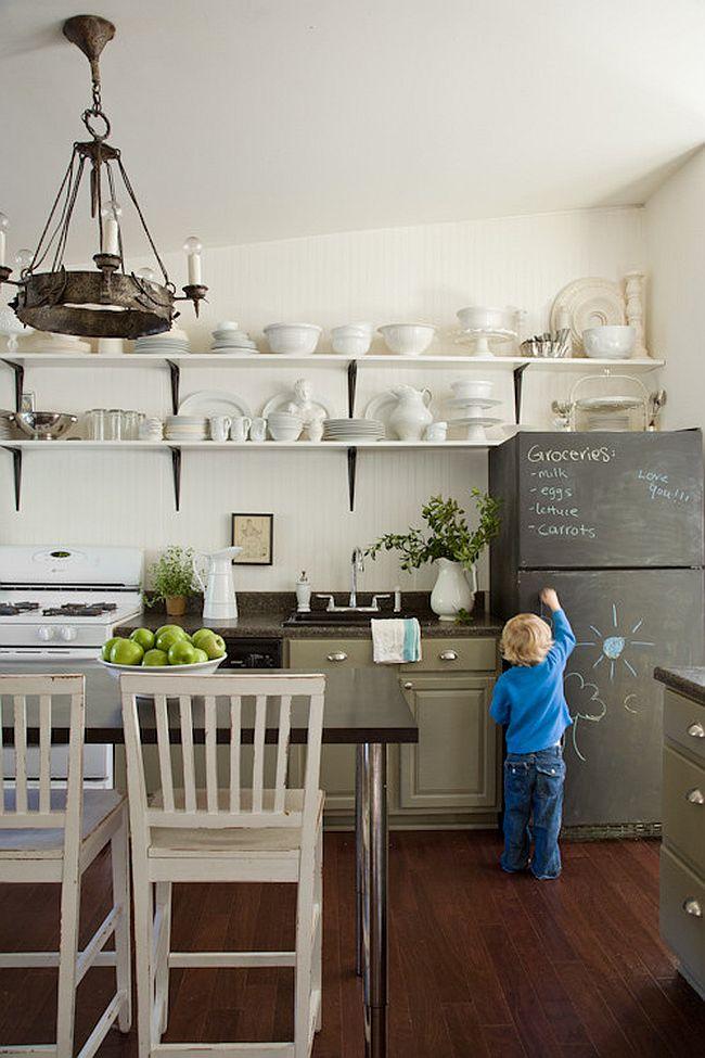 Интерьер кухни в стиле эклектика - Фото 37