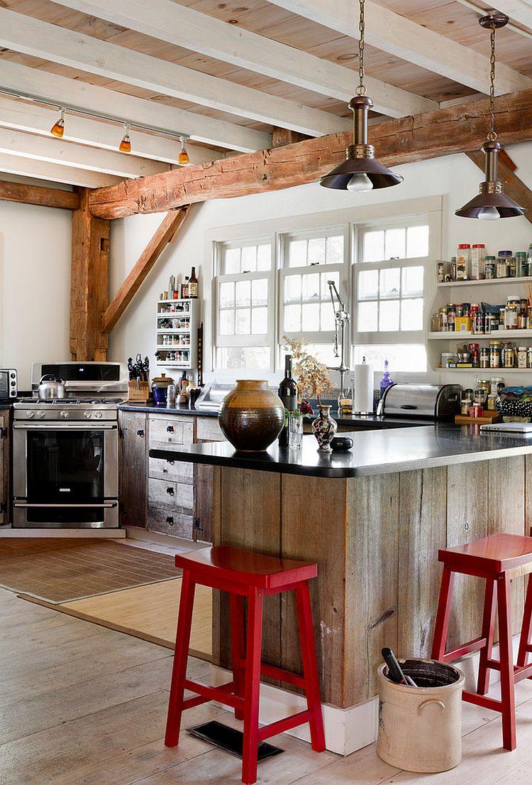 Интерьер кухни в стиле эклектика - Фото 38