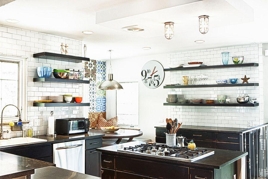 Интерьер кухни в стиле эклектика - Фото 40