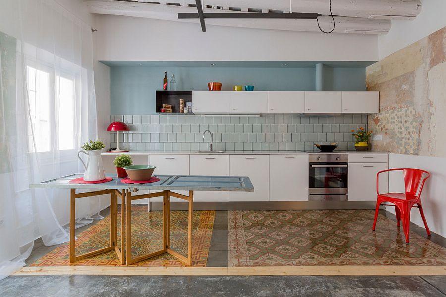 Интерьер кухни в стиле эклектика - Фото 41
