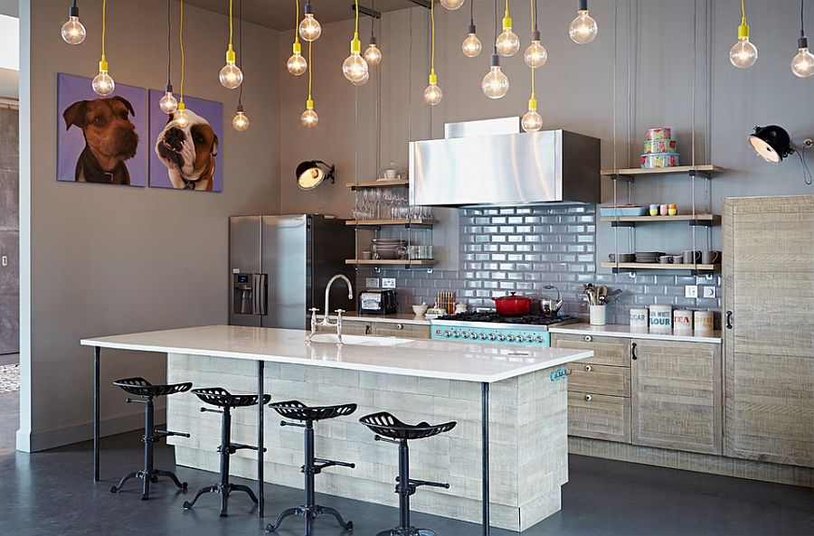 Интерьер кухни в стиле эклектика - Фото 42
