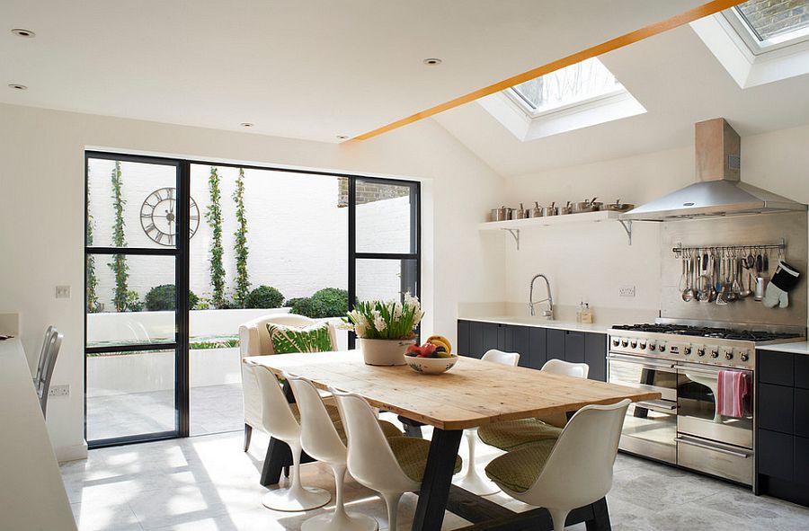 Интерьер кухни в стиле эклектика - Фото 43